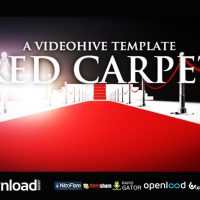 RED CARPET – FREE DOWNLOAD AFTER EFFECTS PROJECT (VIDEOHIVE)