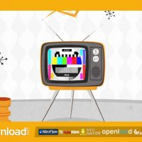 RETRO TV 70´S VIDEOHIVE TEMPLATE AFTER EFFECTS PROJECT