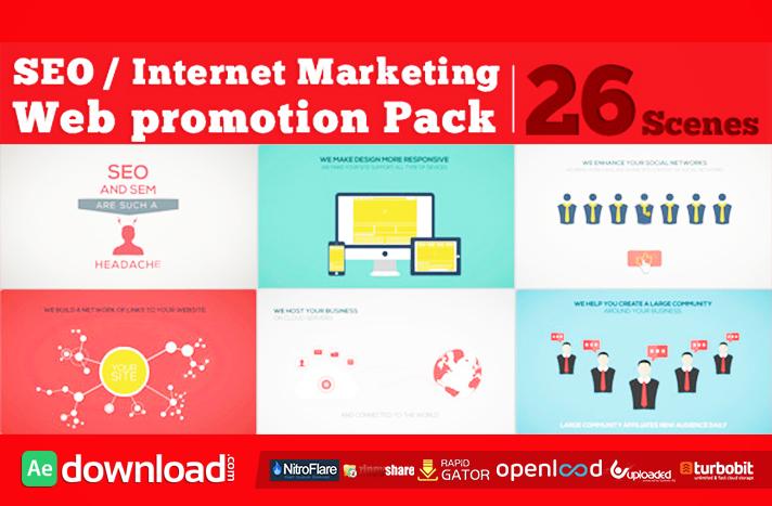 SEO Internet Marketing Web Promotion Pack
