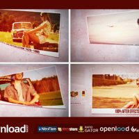 SIMPLE & CLEAN PAPER SLIDESHOW – AFTER EFFECTS PROJECT (VIDEOHIVE)