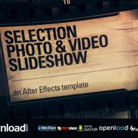 SELECTION PHOTO & VIDEO (SLIDESHOW) FREE DOWNLOAD VIDEOHIVE TEMPLATE