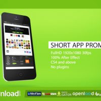 SHORT APP PROMO – FREE DOWNLOAD AFTER EFFECTS PROJECT