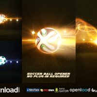SOCCER BALL OPENER – AFTER EFFECTS PROJECT (VIDEOHIVE)