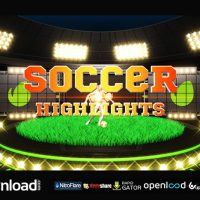 SOCCER HIGHLIGHTS IDENT BROADCAST PACK – AFTER EFFECTS PROJECT (VIDEOHIVE)