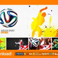 SOCCER SPORT OPENER – AFTER EFFECTS PROJECT (VIDEOHIVE)