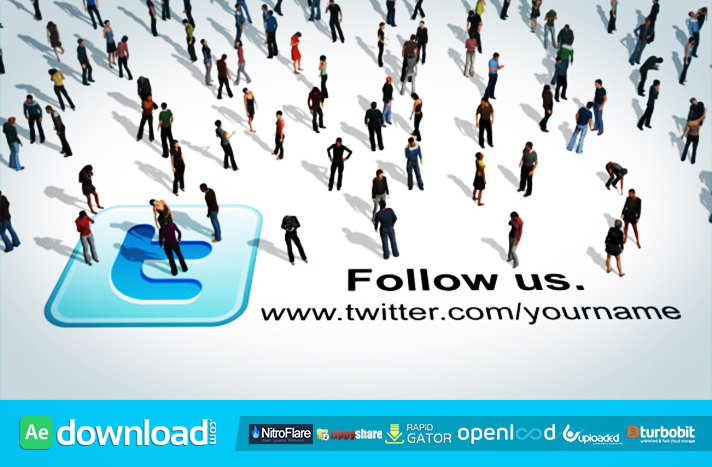 Social People (videohive template)