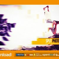 SPLIT PHOTO SLIDE – FREE AFTER EFFECTS PROJECT (VIDEOHIVE)