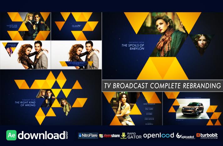 TV BROADCAST COMPLETE REBRANDING