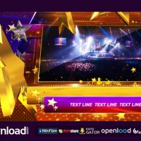 TV SHOW OR AWARDS SHOW PACKAGE PART 2 FREE DOWNLOAD VIDEOHIVE TEMPLATE
