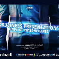 THE BUSINESS PRESENTATION – AFTER EFFECTS PROJECT (VIDEOHIVE)