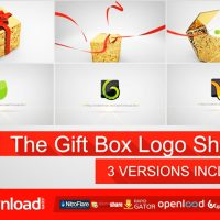 THE GIFT BOX LOGO – FREE DOWNLOAD AFTER EFFECTS PROJECT