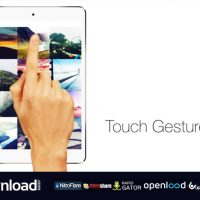 TOUCH GESTURES FREE DOWNLOAD VIDEOHIVE TEMPLATE