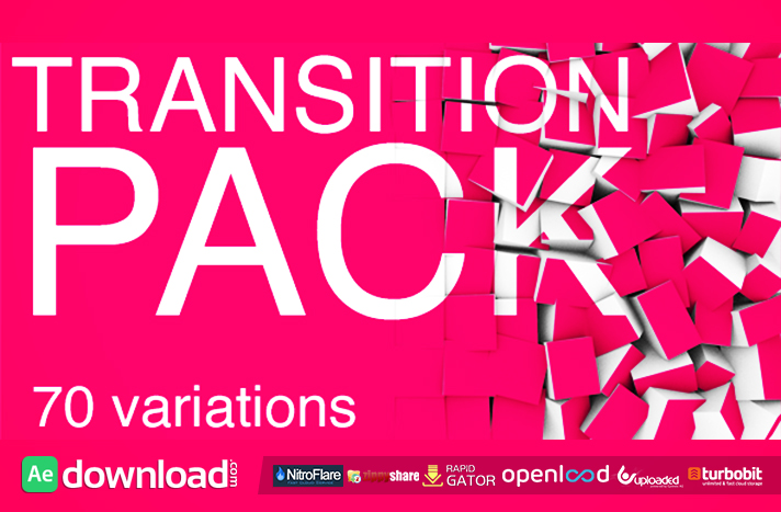 TRANSITION PACK-70 FREE DOWNLOAD VIDEOHIVE TEMPLATE - Free After