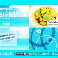 TRIP TO ISLAND SUMMER ALBUM – FREE DOWNLOAD AFTER EFFECTS PROJECT