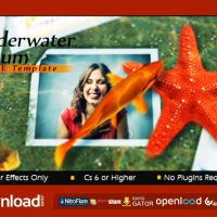 UNDERWATER ALBUM – FREE DOWNLOAD AFTER EFFECTS PROJECT (VIDEOHIVE)