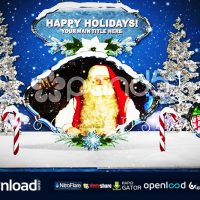 WINTER WONDERLAND POPUP ALBUM – FREE AFTER EFFECTS TEMPLATE (POND5)