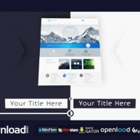 WEBSITE PRESENTATION 2 – FREE AFTER EFFECTS PROJECT (VIDEOHIVE)