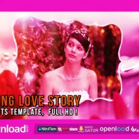 WEDDING LOVE STORY (VIDEOHIVE) FREE TEMPLATE