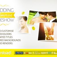 WEDDING MEMORIES SLIDESHOW – FREE AFTER EFFECTS PROJECT (VIDEOHIVE)