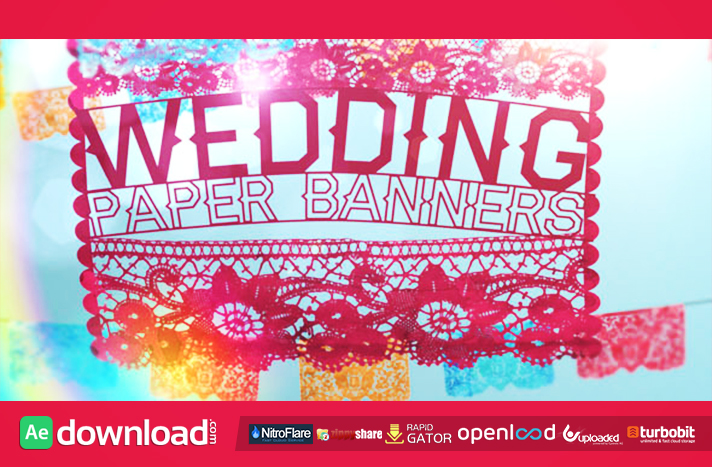 Wedding Paper Banners