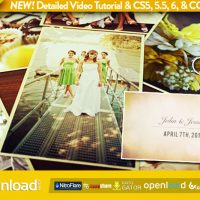 WEDDING PHOTOS SLIDESHOW FREE DOWNLOAD VIDEOHIVE AFTER EFFECTS PROJECT