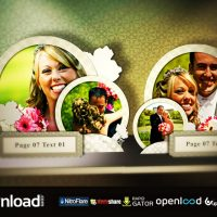WEDDING POP UP BOOK – FREE AFTER EFFECTS TEMPLATE (FLUXVFX)