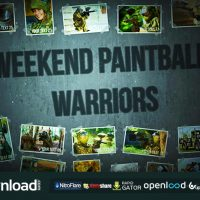 WEEKEND PAINTBALL WARRIORS – AFTER EFFECTS PROJECT (VIDEOHIVE)