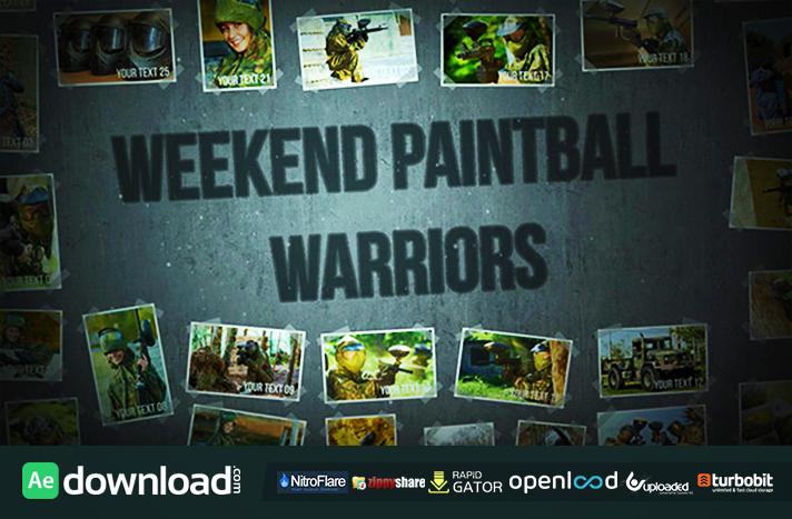 Weekend Paintball Warriors