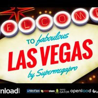 WELCOME TO FABULOUS VEGAS LOGO OPENER ANIMATION FREE DOWNLOAD VIDEOHIVE TEMPLATE
