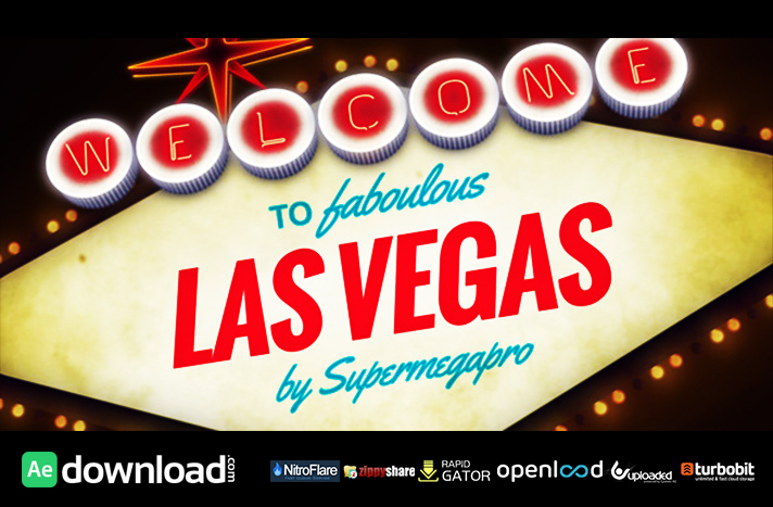 Welcome to Fabulous Vegas Logo Opener Animation