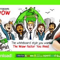 WHITEBOARD WOW FREE DOWNLOAD (VIDEOHIVE)