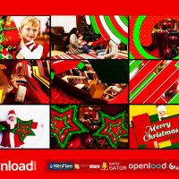 13 CHRISTMAS TRANSITIONS – FREE AFTER EFFECTS PROJECT
