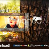 NATURAL OPENER – FREE AFTER EFFECTS TEMPLATE (POND5)