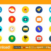 20 ANIMATED ICONS – AFTER EFFECTS PROJECT (VIDEOHIVE)