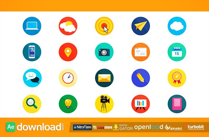 20 Animated Icons