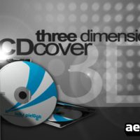3D CD COVER MOCK-UP – AFTER EFFECTS PROJECT (VIDEOHIVE)
