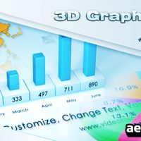 3D GRAPHS PACK – AFTER EFFECTS PROJECT (VIDEOHIVE)