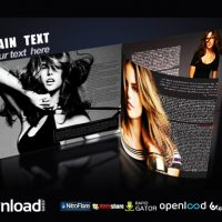 3D MAGAZINE – FREE AFTER EFFECTS PROJECT (VIDEOHIVE)