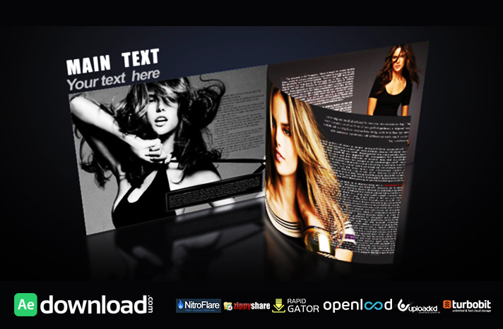 3D MAGAZINE - FREE AFTER EFFECTS PROJECT (VIDEOHIVE) - Free After