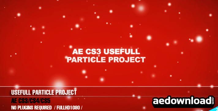 AE CS3 Useful Particle project Light