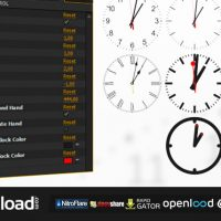 ANALOG WATCH CLOCK SYSTEM – FREE DOWNLOAD (VIDEOHIVE)