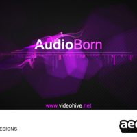 AUDIOBORN – AFTER EFFECTS PROJECT (VIDEOHIVE)