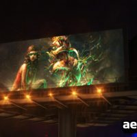 BILLBOARD IN NIGHT CITY FREE DOWNLOAD – VIDEOHIVE