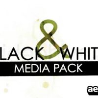 BLACK AND WHITE MEDIA PACK – PROJECT AFTER EFFECTS (VIDEOHIVE)