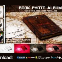 BOOK PHOTO ALBUM – FREE AFTER EFFECTS PROJECT (VIDEOHIVE)