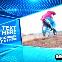 BOXES SLIDE – AFTER EFFECTS TEMPLATE (BLUEFX)