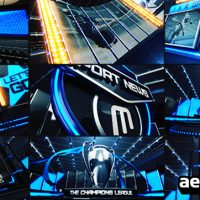 BROADCAST DESIGN SPORT ID – AFTER EFFECTS PROJECT (VIDEOHIVE)