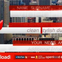 BUSSINES, NEWS LOWER THIRD PACK FULL HD – VIDEOHIVE