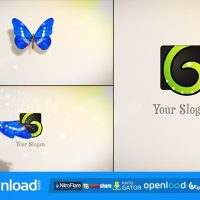 BUTTERFLY LOGO REVEAL 6063266 – FREE AFTER EFFECTS PROJECT (VIDEOHIVE)