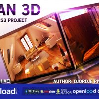 CLEAN 3D – AFTER EFFECTS PROJECT (VIDEOHIVE)